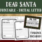 Digital + Printable Letters to Santa Bundle