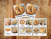 Digital Printable Montessori Matching - Breads of the World - Unity & Peace Unit