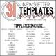 Digital & Printable Newsletters (Editable)