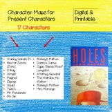 Digital & Printable Present Character Maps for Holes, by L