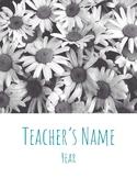 Digital/Printable Teacher Binder