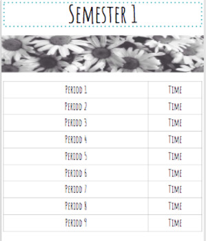 Digital/Printable Teacher Binder