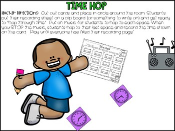 Telling Time to Hour and Half Hour > Digital and Printable Task Cards & more!