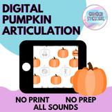 Digital Pumpkin Articulation: All Sounds