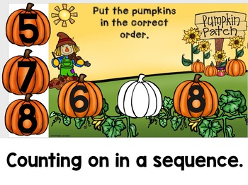 Digital Pumpkin Number Fluency For Use With Google Classroom