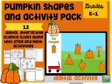 Digital Pumpkin Pack and STEM Connections
