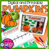 Digital Pumpkin Activities   Fall Activities for October  