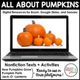 Digital Pumpkins Activities - Boom, Seesaw, & Google Slide