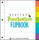 Digital Punctuation Flip Book   Distance Learning