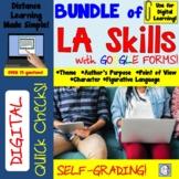 Digital Quick Check BUNDLE for 4th Grade Language Arts Dis