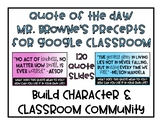 Digital Quote Of The Day/Precept Of The Day Response Slides