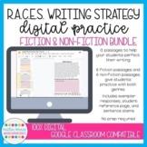 Digital RACE Writing Practice Passages BUNDLE | Distance Learning