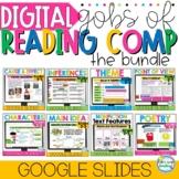 Digital READING COMPREHENSION SKILLS GROWING BUNDLE Google