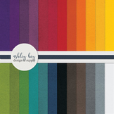 FREE Digital Rainbow Craft Papers- Commercial Use Papers for Sellers