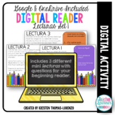 Digital Reader Set 1 - Sara y Miguel {DIGITAL/PAPERLESS}