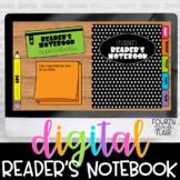 Digital Reader's Notebook   Distance Learning   Google Slides
