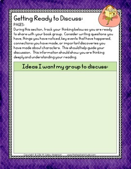 Digital Reader's Notebook for Any Novel GOOGLE EDITION