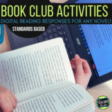 Digital Reader's Notebook for Any Novel GOOGLE EDITION | Reading Response