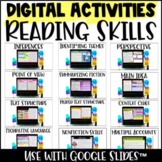 Digital Reading Activities - Distance Learning Reading Activities