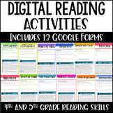 Digital Reading Activities - Reading Google Forms for Dist