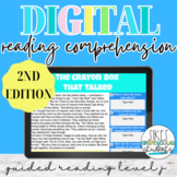 Digital Reading Comprehension (2nd Edition) - Guided Reading Level J