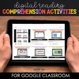 Digital Reading Comprehension Activities for Google Classr