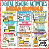 Digital Reading Comprehension Google Classroom MEGA BUNDLE
