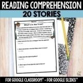 Digital Reading Comprehension - Google Slides™ Distance Learning
