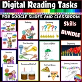 Digital Reading Comprehension Skills Bundle for Google Slides