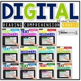 Digital Reading Comprehension Text Evidence for Beginners