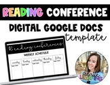 Digital Reading Conference Forms