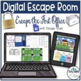 Digital Reading Escape Room - Author's Purpose - Escape th