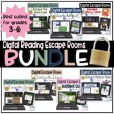 Digital Reading Escape Rooms - BUNDLE