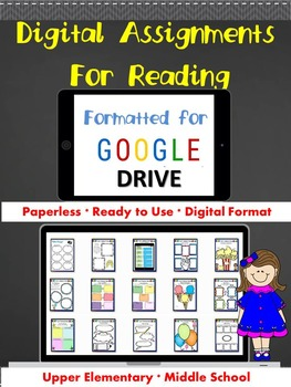 Digital Reading G- Using Google Drive