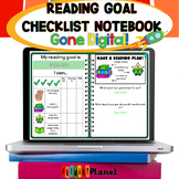 Distance Learning | Reading Goal Notebook | Reading Goal Sheet for Students