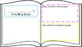 Digital Reading Goal Setting AVID Activity Poster Template Google Slides