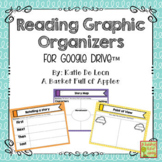 Digital Reading Graphic Organizers for Google Drive
