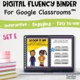 Digital Reading Intervention Fluency Activities & Passages