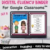 Digital Reading Intervention Fluency Passages Activities F