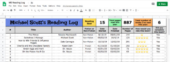 Digital Reading Log