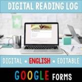 Digital Reading Log (Google Forms)