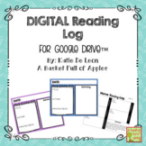 Digital Reading Logs for Google Drive