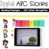Digital Reading Passages: ABC Stories for Letter Recognition