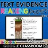 Digital Reading Passages for Google Classroom SET 3 | Dist