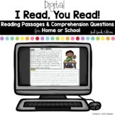 Digital Reading Passages for Home or School: 2nd Grade Edition