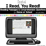 Digital Reading Passages for Home or School: 3rd Grade Edition