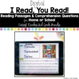 Digital Reading Passages for Home or School Bundle: Early