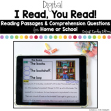 Digital Reading Passages for Home or School: Earliest Read