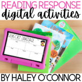 Digital Reading Response Activities {Distance Learning Com