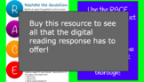 Digital Reading Response - Differentiated & Engaging